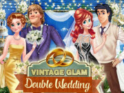 Vintage Glam Double Wedding