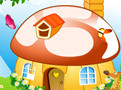 Decorate My Mushroom House Game